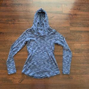 Columbia blue hoodie! EUC!